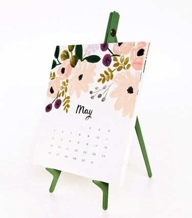 Give the hardworking bohemian the gorgeous Rifle Paper Co. 2013 Botanical Desk Calendar ($48) to keep her schedule in order.
