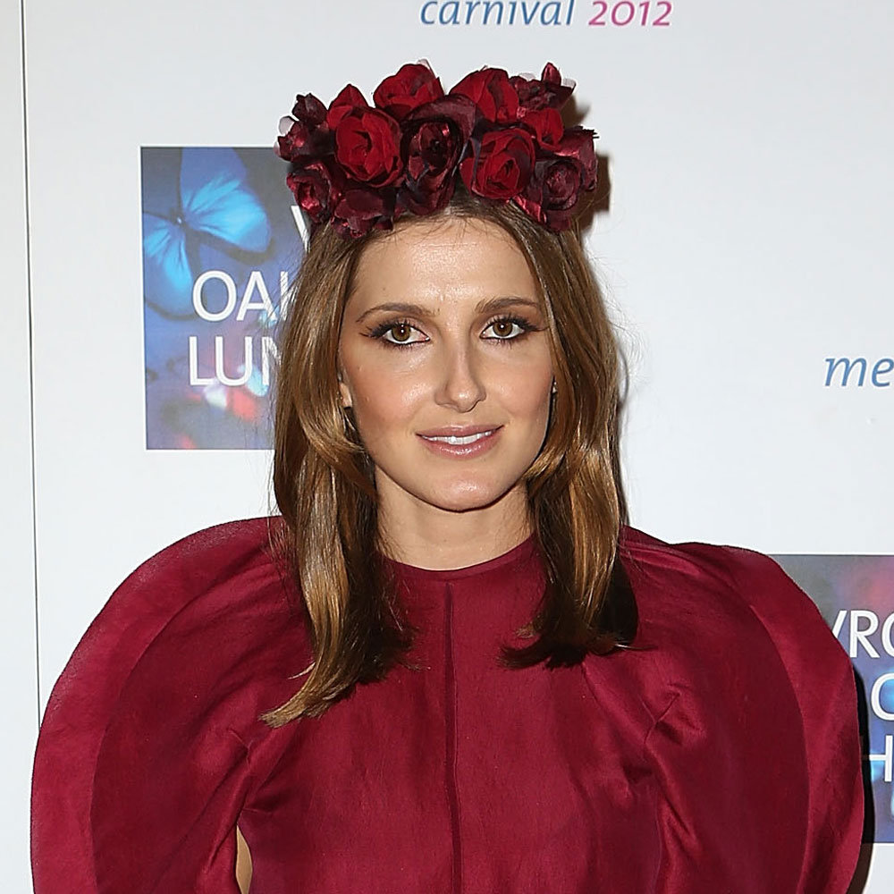 Kate Waterhouse always looks unique and stylish, and yesterday's luncheon was no exception. Her floral crown looked fresh, as did her glossy brown locks.