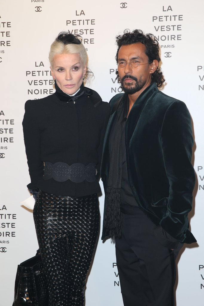Daphne Guinness and Haider Ackermann