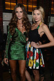 Izabel Goulart and Jessica Hart