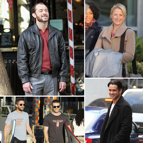 Jude Law, Colin Farrell, Chris Evans, and More Stars on Set