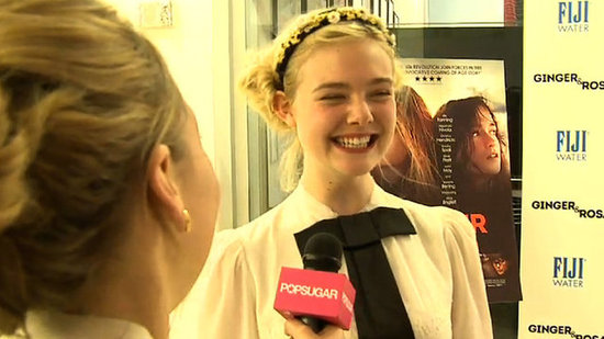 Video: Elle Fanning Shares Her OMG Moment With Angelina Jolie