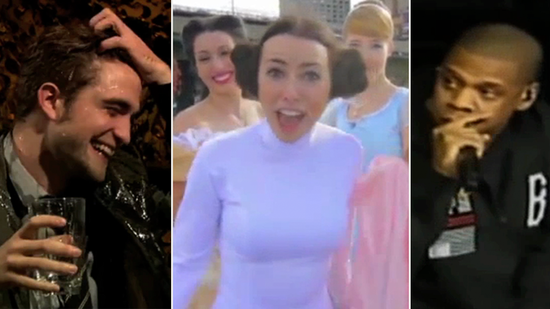 Video: Robert Pattinson Gets Wet, Jay-Z Raps His Vote, and More Viral Hits!
