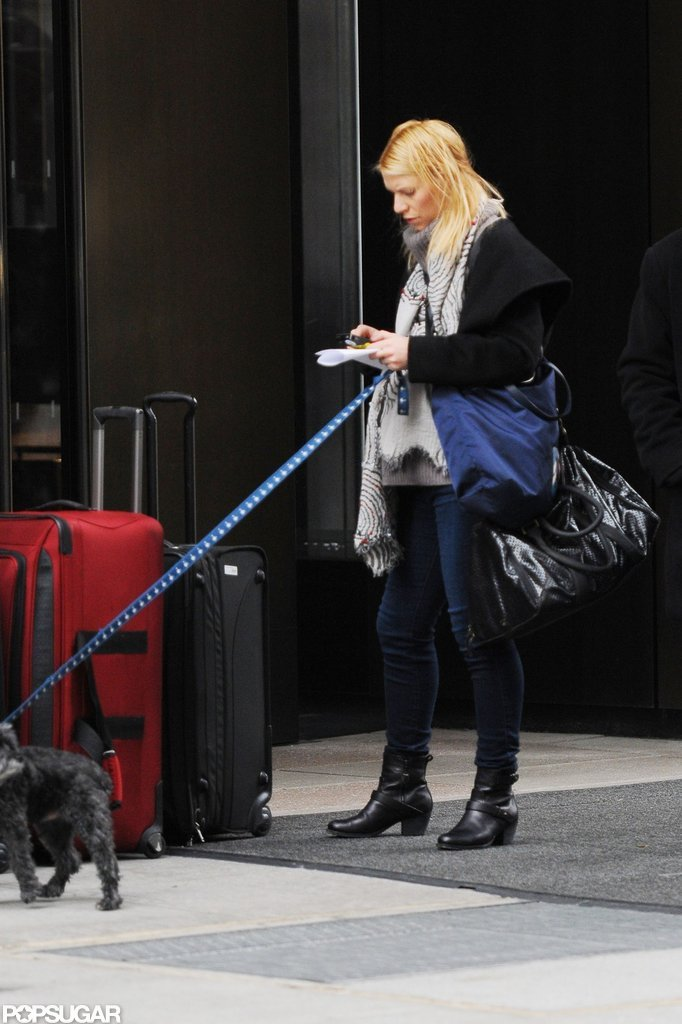 Claire Danes stepped out in NYC.