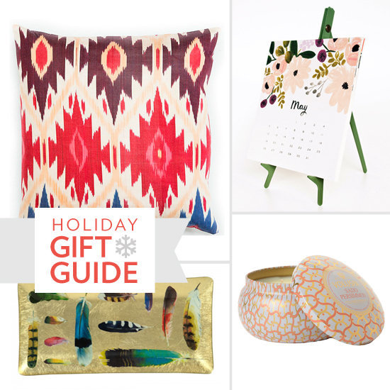 With bold patterns, bright prints, and eye-catching colors, Casa's gorgeous gifts are sure to please the design-savvy bohemian on your holiday shopping list.