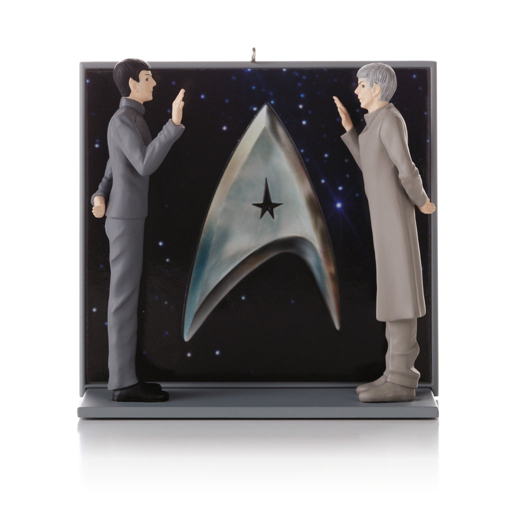 An Extraordinary Meeting plays dialogue from the scene in which Spock meets his former self ($30).