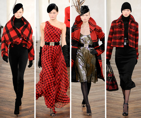 Ralph Lauren's Plaid Collection Fall 2008