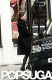 Kate Middleton left Harvey Nichols.