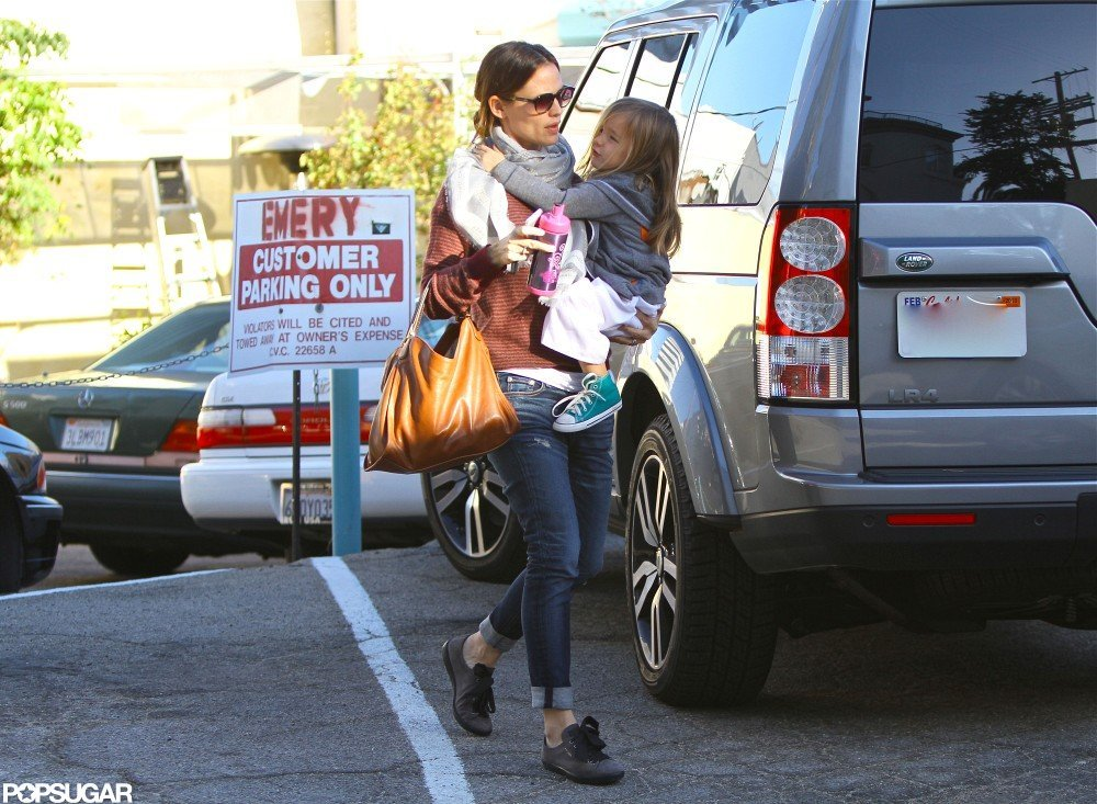 Jennifer Garner and Seraphina Affleck went to a karate class.