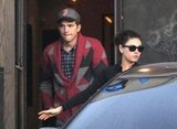 Ashton Kutcher and Mila Kunis hung out in LA.