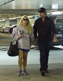 Jessica Simpson and Eric Johnson Hold Hands and Run Errands