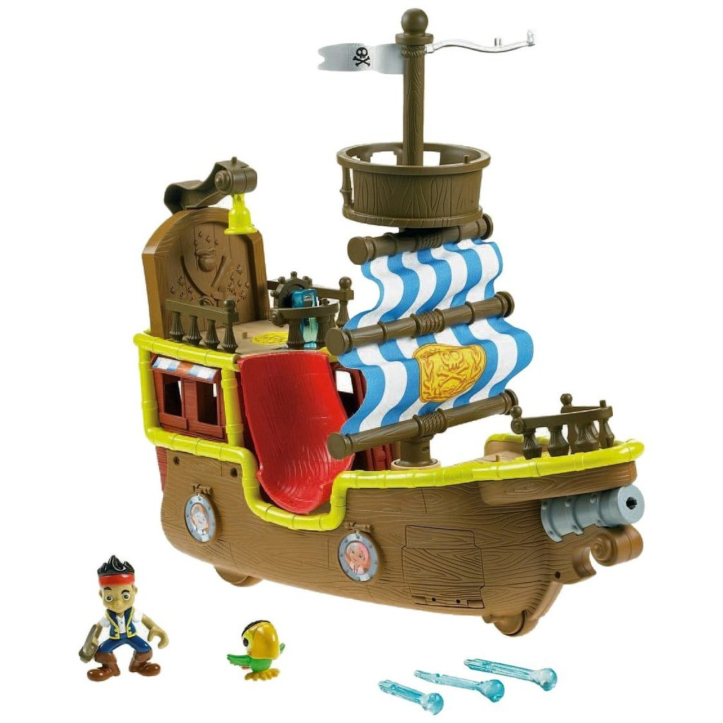 For 3-Year-Olds: Jake and the Never Land Pirates Musical Pirate Ship Bucky