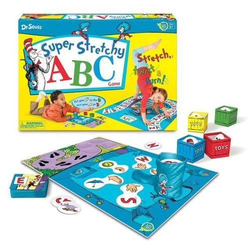For 3-Year-Olds: Dr. Seuss Super Stretchy ABCs