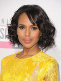 Kerry Washington arrived at the American Music Awards.