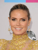Heidi Klum Is a Golden Girl at the American Music Awards