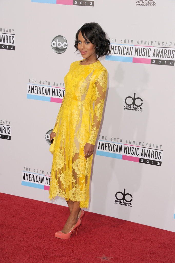 Kerry Washington arrived on the red carpet.