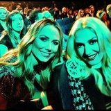 Stacy Keibler snapped a photo with Gwen Stefani. Source: Instagram user stacykeibler