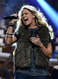 Carrie Underwood Gets Set to Sing at the Star-Studded AMAs