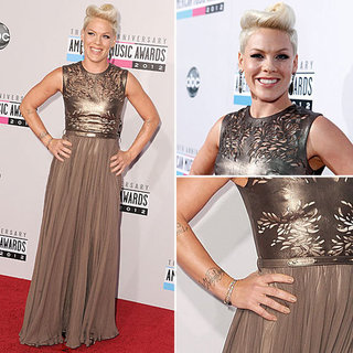 Pictures of Pink at the American Music Awards