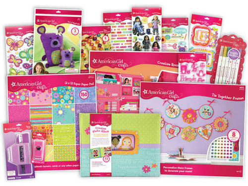 For 6-Year-Olds: EK Success American Girl Crafts