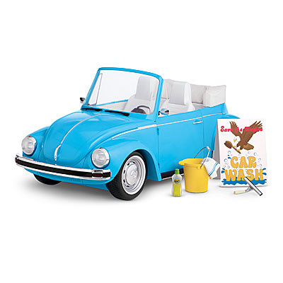 For 6-Year-Olds: American Girl Julie's Car Wash Set