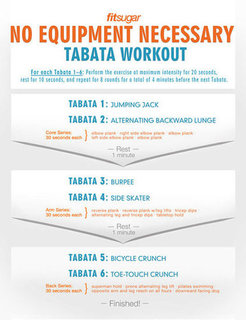Printable Tabata Workout