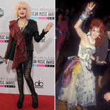 Now and Then: Stars at the AMAs