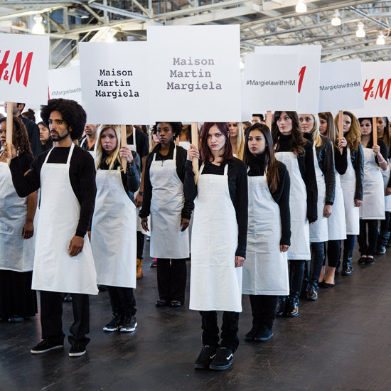 Margiela With H&M's Wordless Worldwide March