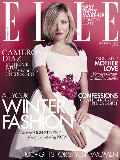 Elle UK December 2012