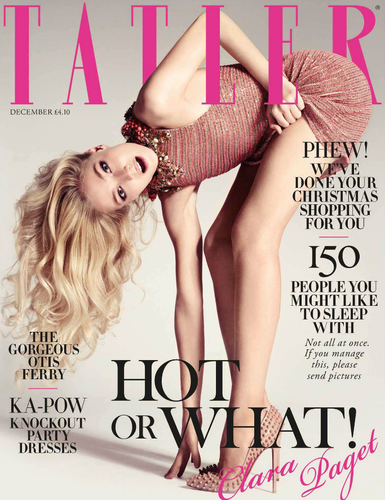Tatler UK December 2012