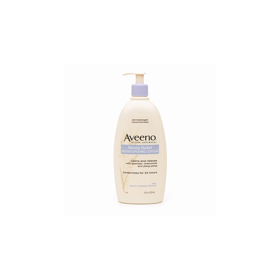 Infused with lavender and chamomile, Aveeno Active Naturals Moisturizing Lotion ($11) removes stress and smooths things over.