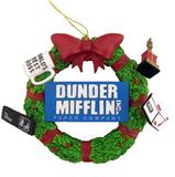 Dunder Mifflin Wreath Ornament ($12)