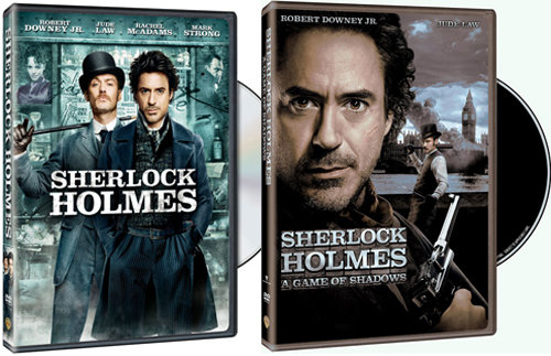 Sherlock Holmes ($5, originally $13) Sherlock Holmes: A Game of Shadows ($8, originally $20)