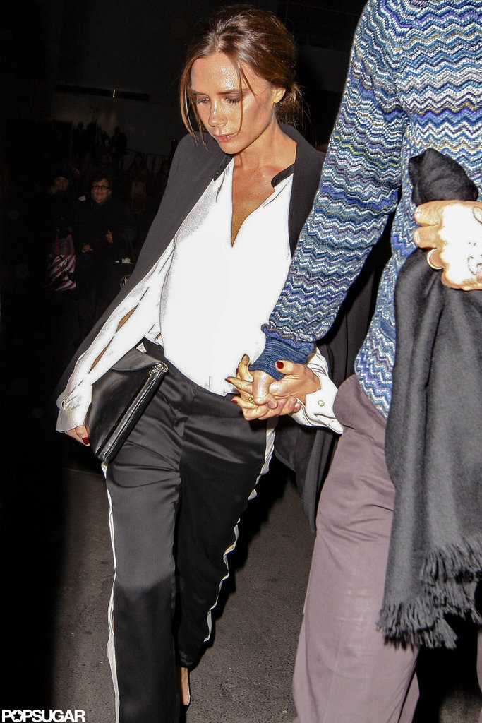 David and Victoria Beckham Have a Barbra Streisand Date Night