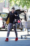 Hilary Duff and Luca Comrie ran errands in LA.