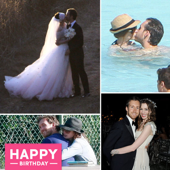 Anne Hathaway's 30 Best PDA Pictures on Her Birthday