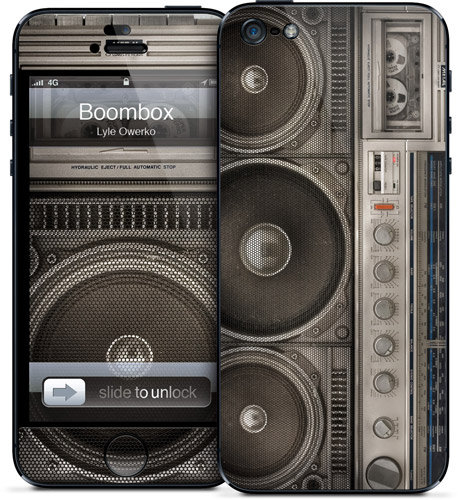 Boombox by Lyle Owerko ($15)