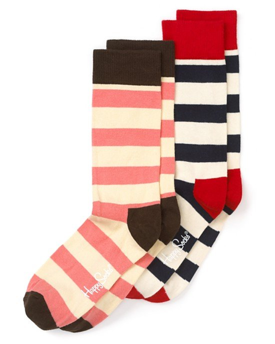 One can never have enough Happy Socks stripe crew socks ($12) in their life.