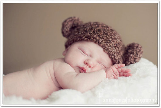 Just Born Bear Hat