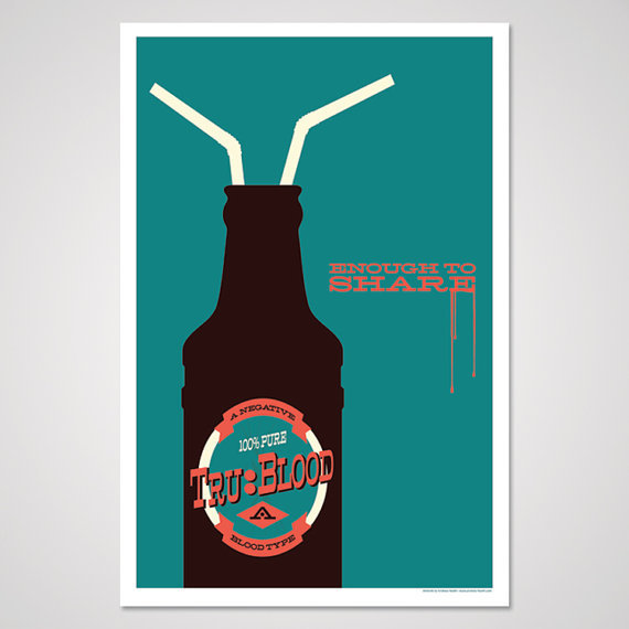 True Blood-Inspired Art Print ($10)