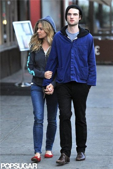 Sienna Miller and Tom Sturridge stepped out in NYC together.