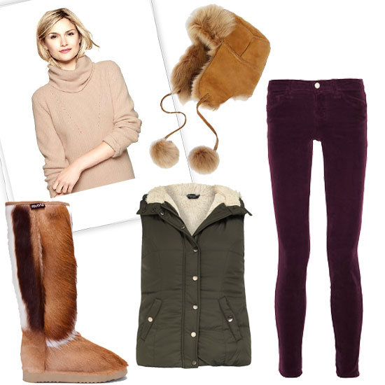 Cute Winter Cabin Outfits