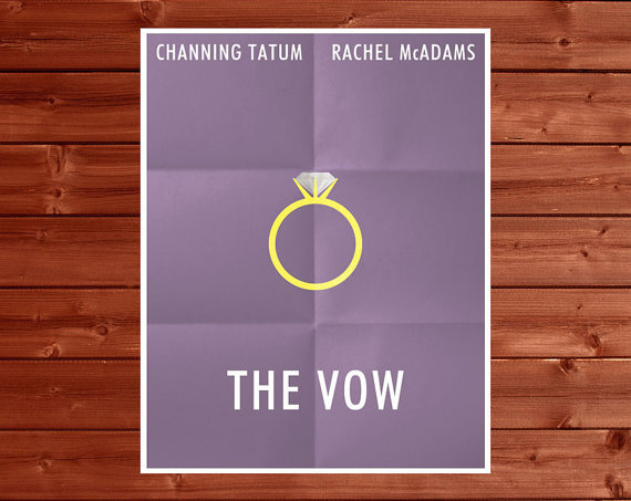 The Vow Movie Poster ($14)