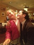 This Is 40 actors Iris Apatow and Paul Rudd reunited. Source: Twitter user JuddApatow