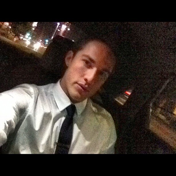 The Vampire Diaries' Michael Trevino headed to GQ's Men of the Year party in Los Angeles. Source: Instagram user michael_trevino