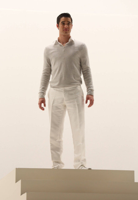Initially I was disappointed that Blaine opted out of being Danny, but now I see how he's the perfect Teen Angel.