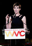 Anne Hathaway Steps Out With Adam to Celebrate Women in Media