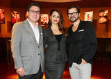 Penelope Cruz linked up with the men of Campari to unveil her new calendar.