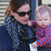 Jennifer Garner and Samuel Affleck in LA | Pictures