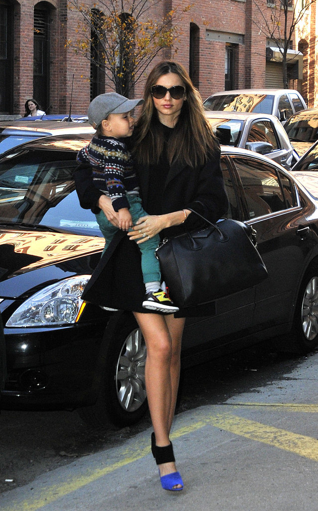 Miranda Kerr Sees the City Sights With Flynn Bloom